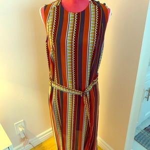 Tory Burch Silk Multicolored Julia Dress Size 10
